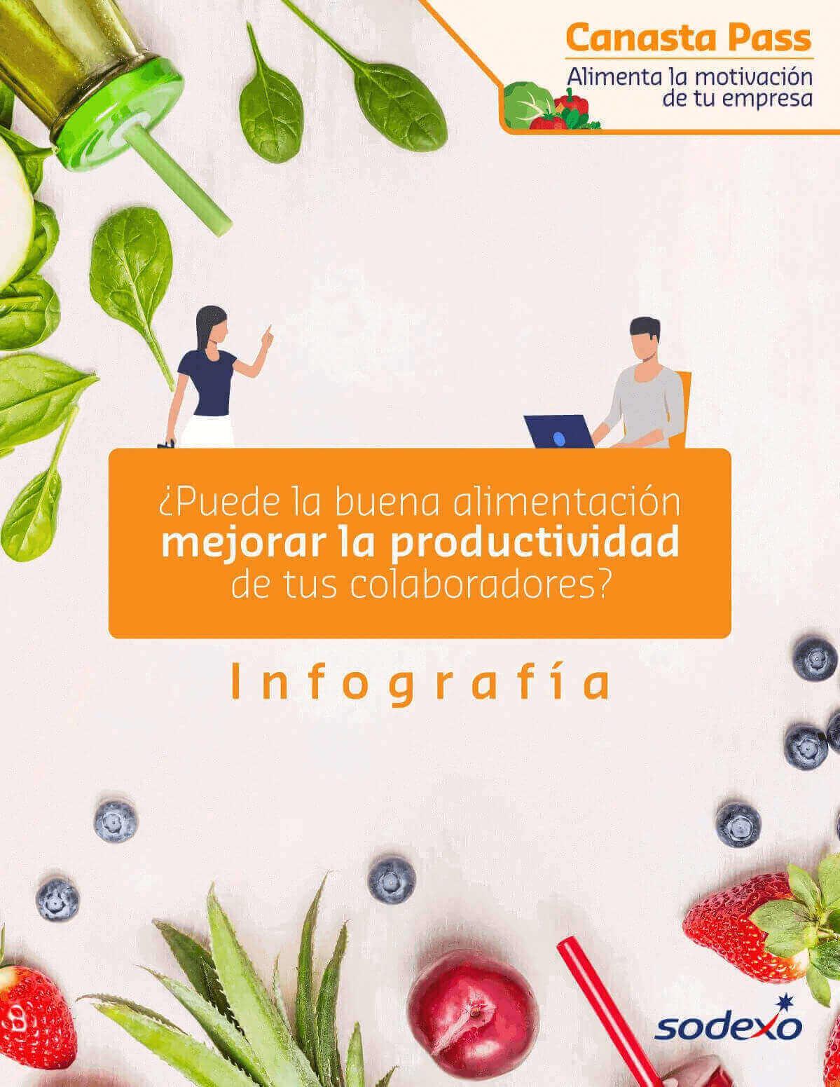 Puede la buena alimentación mejorar la productividad de tus colaboradores
