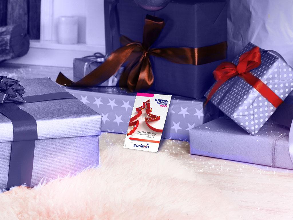 tarjeta Navidad Sodexo